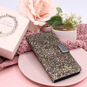 Kate Spade Chunky Glitter Magnetic Wrap Folio Case